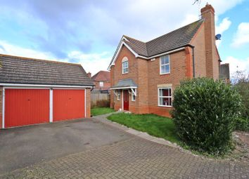 Thumbnail 4 bedroom detached house for sale in Blyth Court, Tattenhoe, Milton Keynes