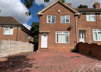 Thumbnail 3 bed end terrace house to rent in Dunslade Road, Erdington, Birmingham