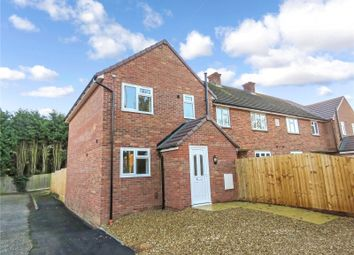 Thumbnail 3 bedroom end terrace house to rent in Church Street, Holme, Peterborough, Huntingdonshire