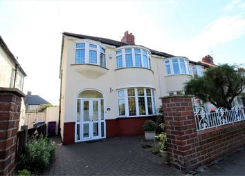 Thumbnail 3 bed semi-detached house for sale in Thomas Drive, Liverpool, Merseyside