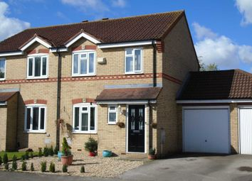 Thumbnail 3 bedroom semi-detached house for sale in Wymondham, Monkston, Milton Keynes