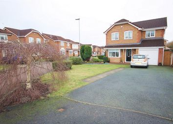 Thumbnail 4 bed detached house for sale in Wiltshire Close, Woolston, Warrington
