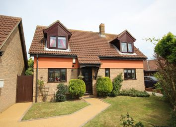 Thumbnail 3 bed detached house for sale in Tyne Mews, Caister-On-Sea, Great Yarmouth