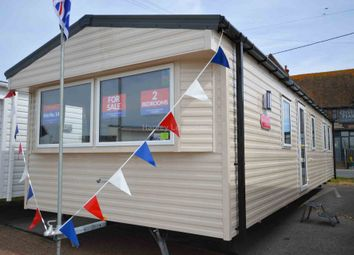 Thumbnail 2 bedroom property for sale in Alberta Holiday Park, Faversham Road, Whitstable