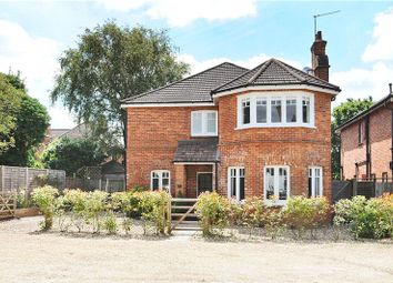Thumbnail 4 bed detached house for sale in Bath Road, Camberley, Surrey