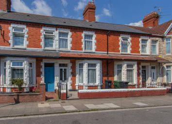 Thumbnail 3 bed terraced house to rent in Brunswick Street, Canton, Cardiff