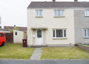 Thumbnail 3 bed end terrace house to rent in Cawdor Close, Haverfordwest