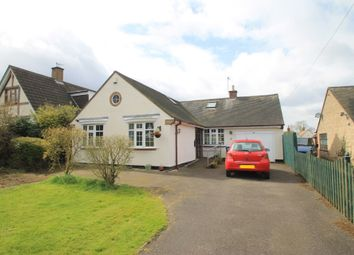 Thumbnail 3 bed detached bungalow for sale in Ormes Lane, Ratcliffe Culey, Atherstone