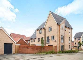 Thumbnail 4 bed town house to rent in Beaufort Road, Upper Cambourne, Cambridge