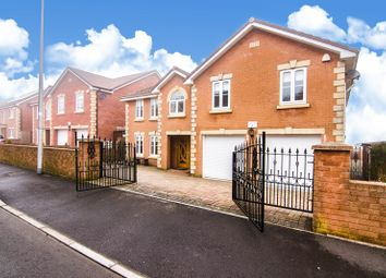 Thumbnail 4 bed detached house for sale in Clos Cribyn, Beacon Heights, Merthyr Tydfil