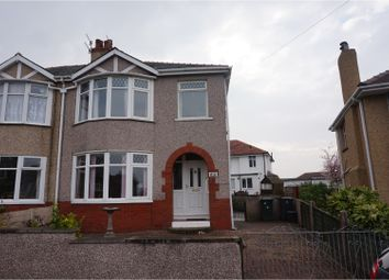 Thumbnail 3 bed semi-detached house for sale in Knowlys Grove, Morecambe