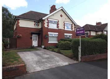 Thumbnail 3 bed semi-detached house for sale in Hall Road, Ashton-Under-Lyne