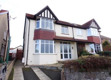 Thumbnail 4 bed semi-detached house for sale in Dinerth Park, Rhos On Sea, Colwyn Bay, Conwy