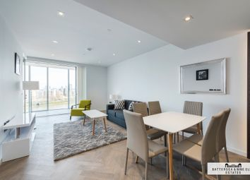 Thumbnail 3 bed flat for sale in Circus Road West, London