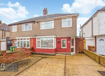 Thumbnail 3 bed semi-detached house for sale in Ronaldstone Road, Sidcup