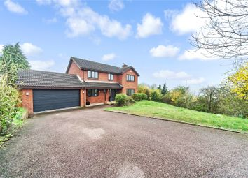 Thumbnail 4 bedroom detached house for sale in Barleymow Close, Walderslade, Kent