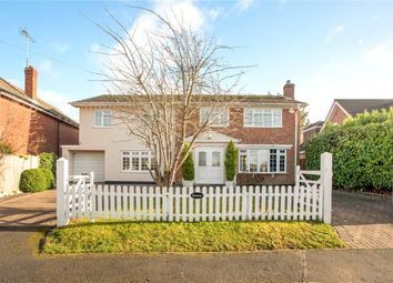 Thumbnail 5 bed detached house for sale in School Road, Waltham St. Lawrence, Reading, Berkshire