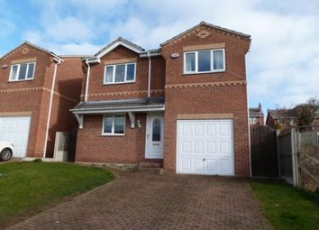 Thumbnail 4 bed detached house to rent in Hemings Way, South Elmsall, Pontefract