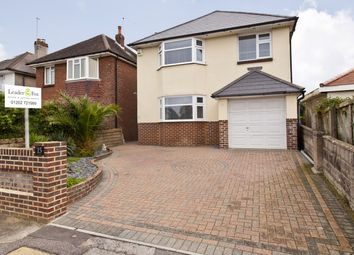 Thumbnail 4 bedroom detached house for sale in Bright Road, Oakdale, Poole