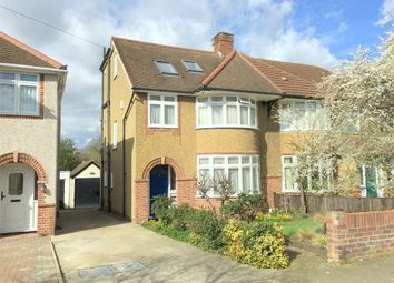 Thumbnail 5 bed semi-detached house for sale in Meadowview Road, West Ewell, Epsom