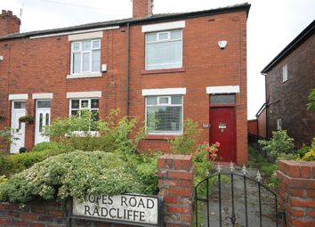 Thumbnail 2 bed end terrace house for sale in Stopes Road, Radcliffe, Manchester