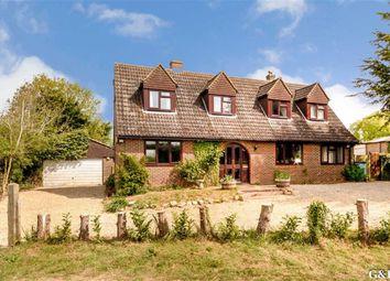 Thumbnail 4 bed detached house for sale in Bourne Road, Aldington, Ashford