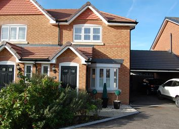 Thumbnail 3 bed semi-detached house to rent in Crocus Avenue, Minster On Sea, Sheerness, Kent