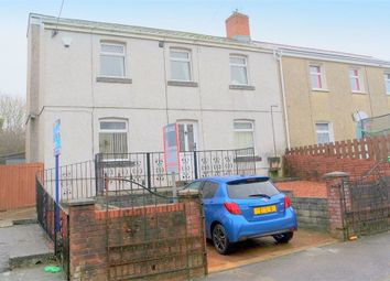 Thumbnail 3 bed semi-detached house for sale in Heol Newydd, Cefn Cribwr, Bridgend, Mid Glamorgan