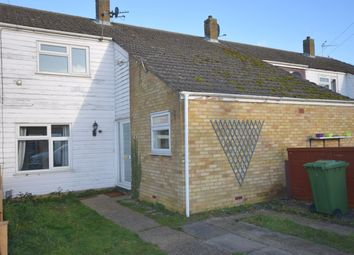 Thumbnail 2 bed terraced house to rent in Coldhams North, Huntingdon