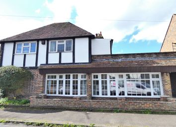 Thumbnail 3 bed terraced house for sale in The Street, Newington, Folkestone