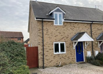 Thumbnail 2 bed semi-detached house for sale in Schools Close, Mendlesham