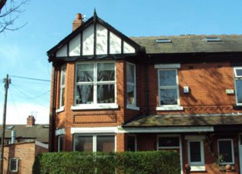 Thumbnail 5 bed end terrace house to rent in Brixton Avenue, West Didsbury, Didsbury, Manchester