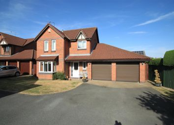 Thumbnail 4 bed detached house for sale in Alesworth Drive, Burbage, Hinckley