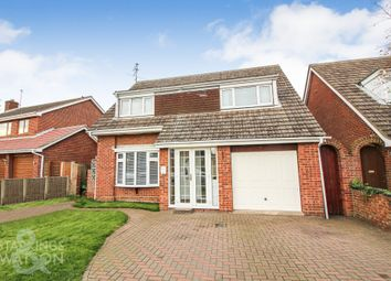 Thumbnail 4 bed property for sale in Wren Drive, Bradwell, Great Yarmouth