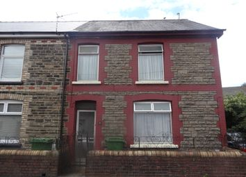 Thumbnail 1 bed end terrace house to rent in Rees Terrace, Treforest, Pontypridd