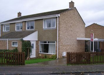 Thumbnail 3 bedroom semi-detached house to rent in Wytham Close, Eynsham, Witney