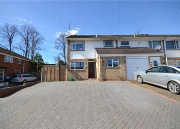 Thumbnail 3 bedroom end terrace house for sale in Lymington Avenue, Yateley, Hampshire