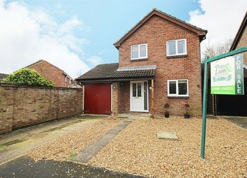 Thumbnail 3 bed detached house for sale in Chequers Close, Alconbury Weston, Huntingdon