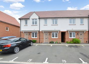 Thumbnail 2 bed terraced house to rent in Cranesbill Way, Newton Abbot, Devon