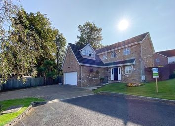 Thumbnail 4 bed detached house for sale in Roger Beck Way, Sketty, Swansea