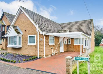Thumbnail 3 bed detached bungalow for sale in Julian Road, Spixworth, Norwich