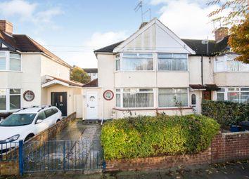 Thumbnail 3 bed end terrace house for sale in Granville Avenue, Feltham