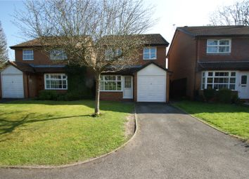 Thumbnail 3 bed detached house for sale in Lindsey Close, Wokingham, Berkshire