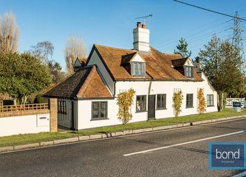 Thumbnail 4 bed cottage for sale in Burnham Road, Woodham Mortimer