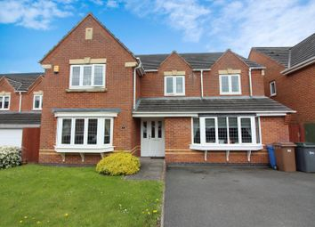 Thumbnail 5 bed detached house for sale in Gainsmore Avenue, Norton Park, Stoke-On-Trent