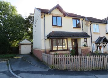 Thumbnail 4 bed semi-detached house for sale in Naseby Drive, Heathfield, Newton Abbot