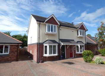Thumbnail 3 bed semi-detached house for sale in Cysgod Y Castell, Llandudno Junction, Conwy, North Wales