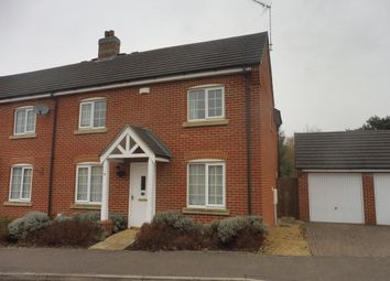 Thumbnail 3 bed semi-detached house to rent in Rosemary Way, Downham Market