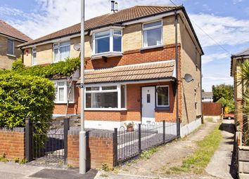 Thumbnail 3 bed semi-detached house for sale in Gwynne Road, Branksome, Poole