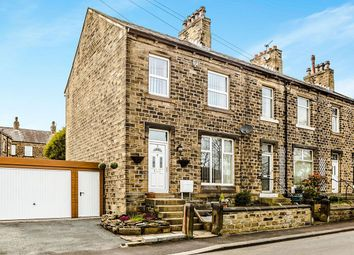 Thumbnail 3 bedroom terraced house for sale in Botham Hall Road, Longwood, Huddersfield